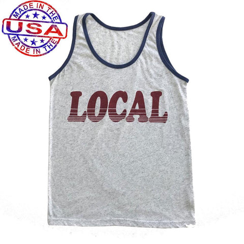 Boys Local Tank Top by Tiny Whales