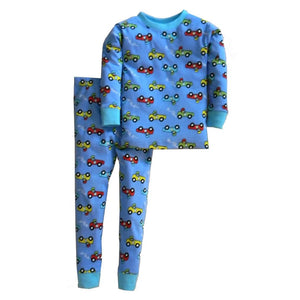 Boys Snuggly Racing Cars Pajamas by New Jammies