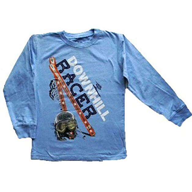 Boys' Downhill Racer T-Shirt by Wes and Willy