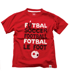 Boys' Futbal Soccer Shirt by Wes and Willy