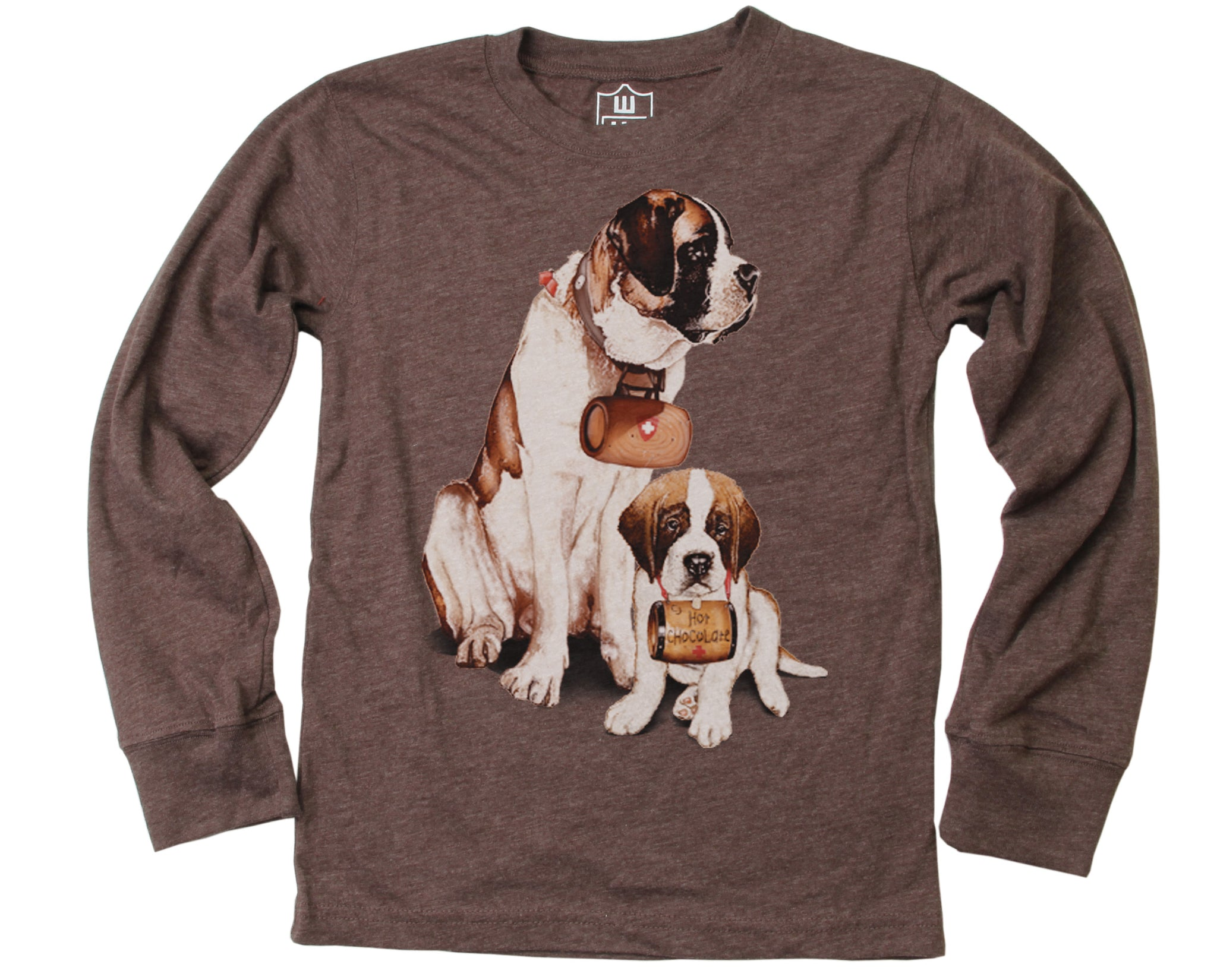 Boys Saint Bernard T-Shirt by Wes and Willy