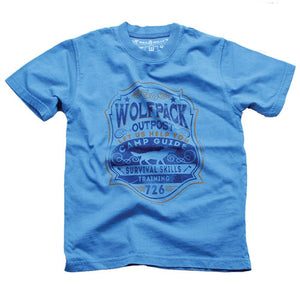 Boys Wolf Pack Shirt by Wes and Willy