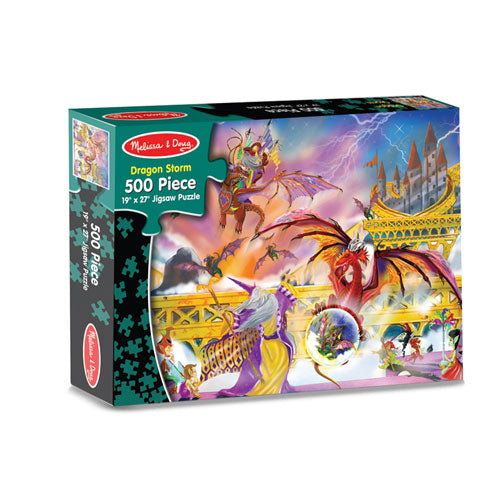Dragon Storm Jigsaw Puzzle by Melissa Doug