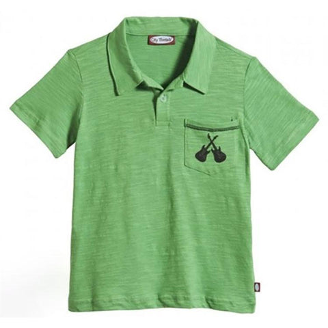 Boys' Cross Guitars Polo by City Threads - The Boy's Store