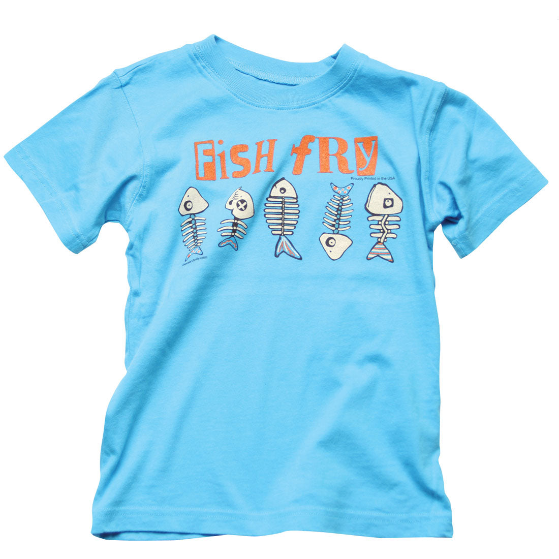 Boys Fish Fry Shirt by Wes and Willy