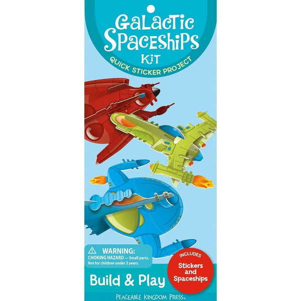 Boys' Galactic Spaceships Kit by Peaceable Kingdom