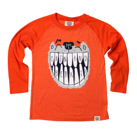 Boys' Grin and Bear It Shirt by Wes and Willy