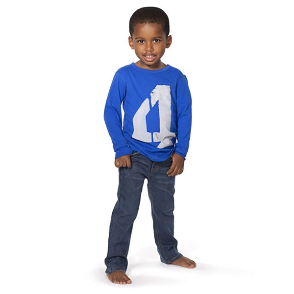 Boys' Plus Minus Long Sleeve Shirt by Appaman