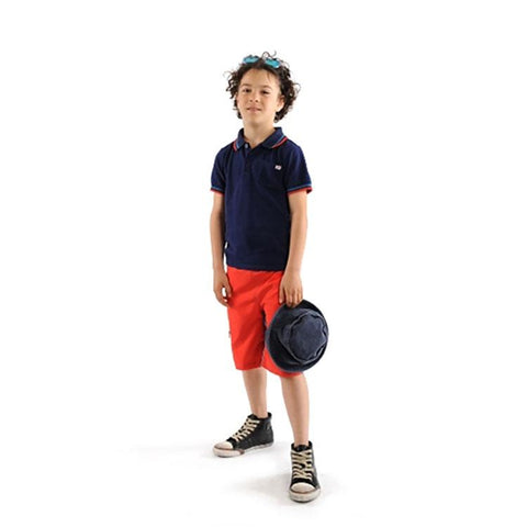 Boys' Pique Polo by Appaman