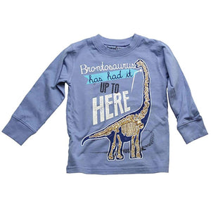 Boys' Brontosaurus Has Had It Shirt by Wes and Willy - The Boy's Store