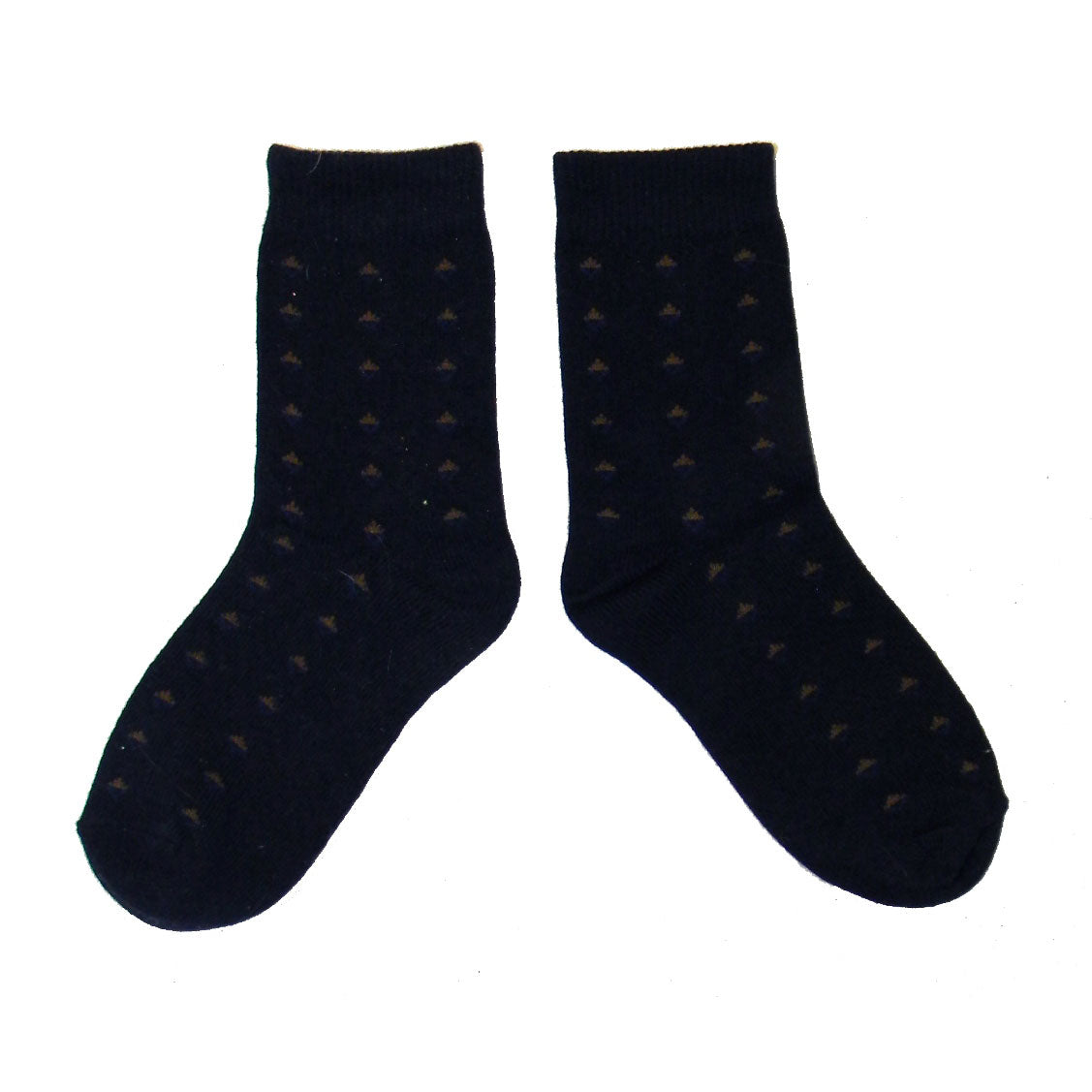 Boys Diamond Print Crew Socks by Jefferies Socks