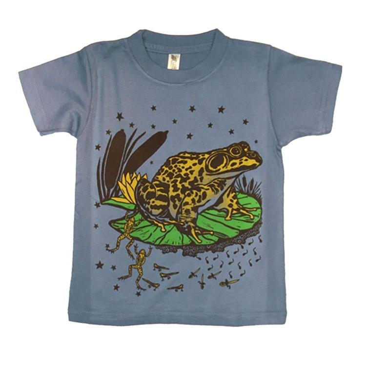 Little Boys' Frog Shirt by Wugbug Clothing - The Boy's Store