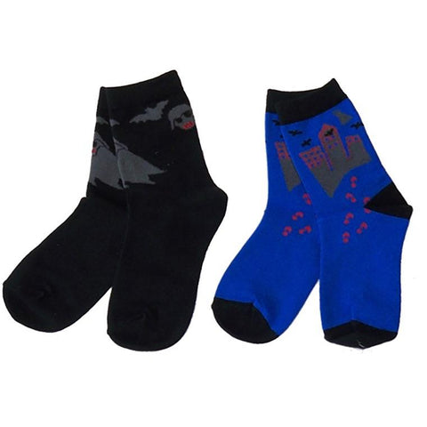 Boys' Ghosts and Bats Socks by NowaLi