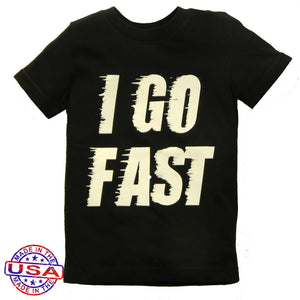 Little Boys' I Go Fast Shirt by Pluto