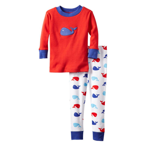 Little Boys Whale Pajamas by New Jammies - The Boy's Store