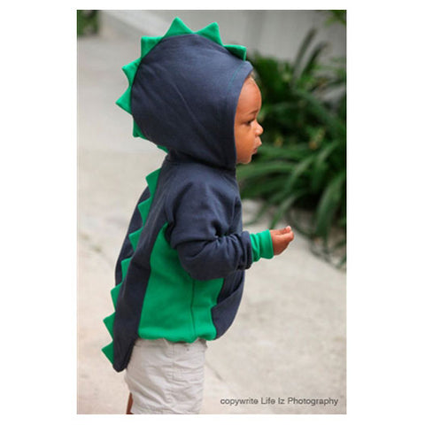Boys Dino Hoodie by City Threads