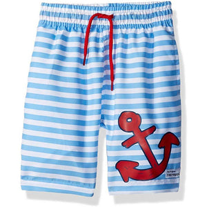 Little Boys' Sailor Stripe Shorts by Flap Happy