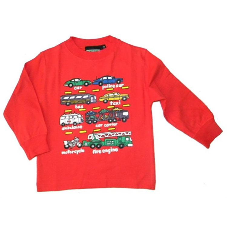 Little Boys' Traffic Jam Shirt by Teaching Togs