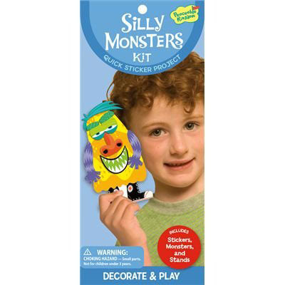 Boys' Silly Monsters Kit by Peaceable Kingdom