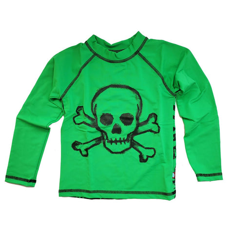 Boys' Skulls Rashguard by City Threads