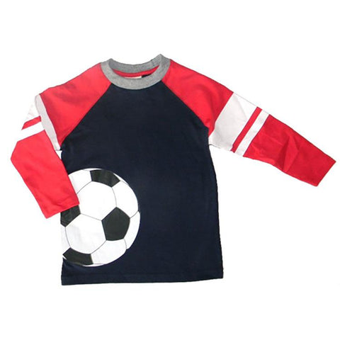 Toddler Boys Soccer T-Shirt by CR Sport