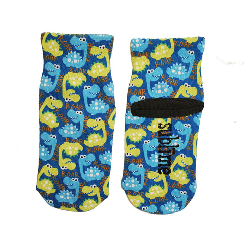 Little Boys Dinosaur Ankle Socks by Sublime Designs