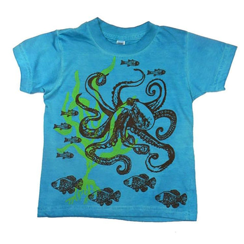 Toddler Boys' Octopus Shirt by Wugbug Clothing - The Boy's Store
