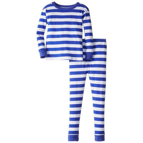 Toddler Boys Striped Pajama Set