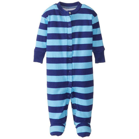 Little Boys Striped Footie Pajamas by New Jammies - The Boy's Store