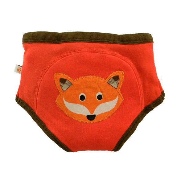 Boys Organic Fox Training Briefs by Zoocchini