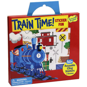 Boys' Train Time Sticker Fun by Peaceable Kingdom