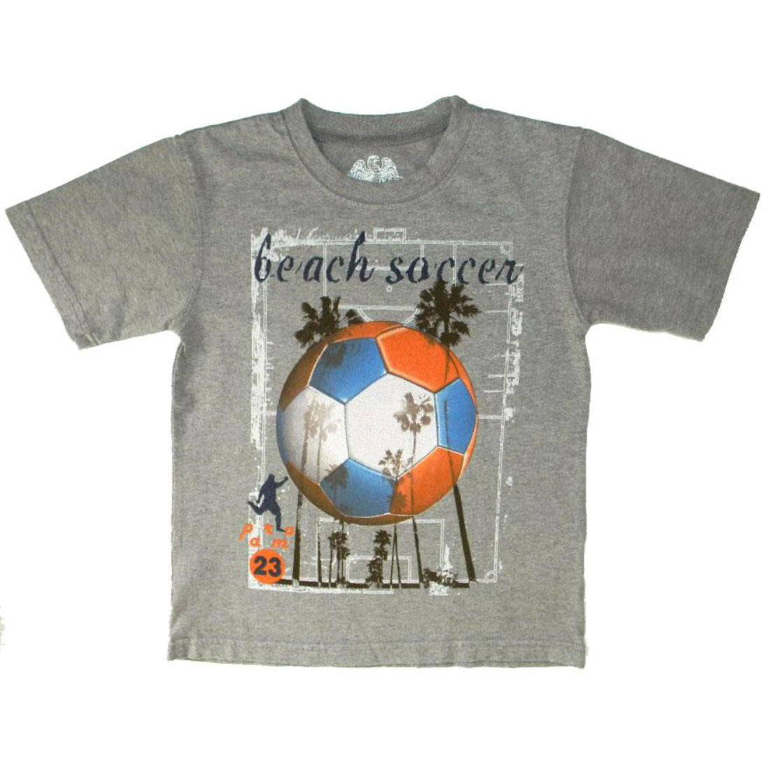 Boys Beach Soccer Shirt by Wes and Willy