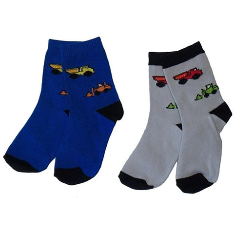 Boys' Construction Socks by NowaLi - The Boy's Store