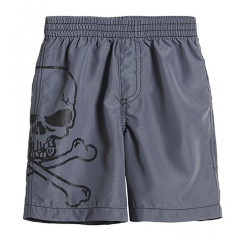 Boys' Mean Skull Swimsuit by City Threads