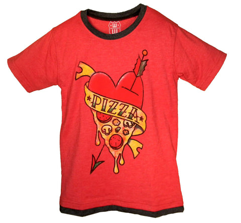 Boys' Pizza Shirt by Wes and Willy