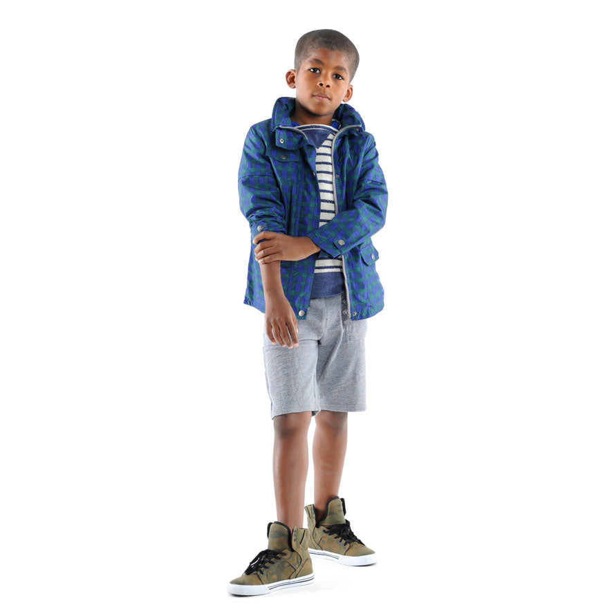 Boys' Plaid Windbreaker by Appaman