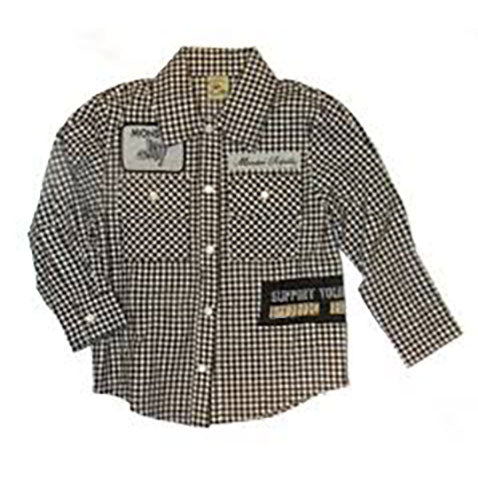 Boys' Punk NYC Plaid Shirt by Monster Republic