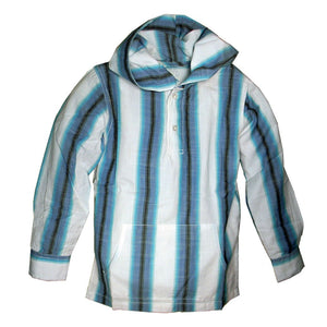 Boys Hooded Beach Shirt by Wes and Willy