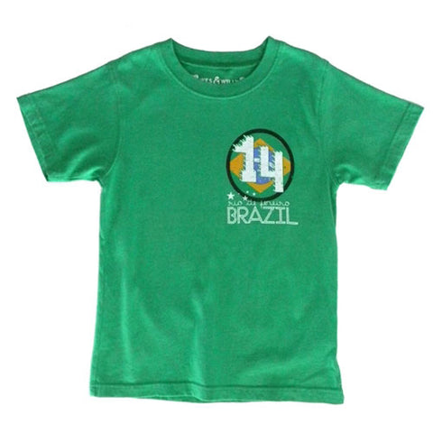 Boy's World Soccer Shirt by Wes and Willy