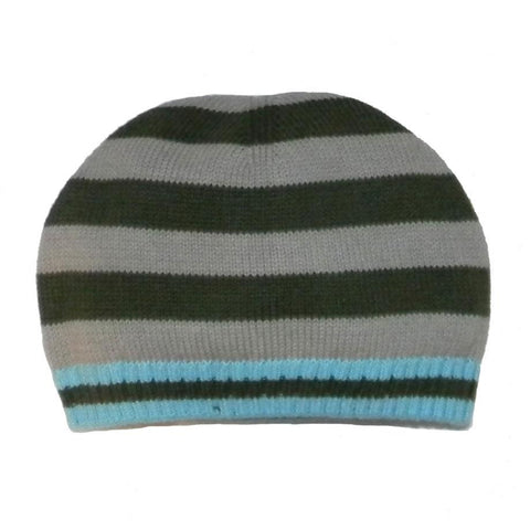 Little Boys' Jet Striped Hat by Rabbit Moon - The Boy's Store