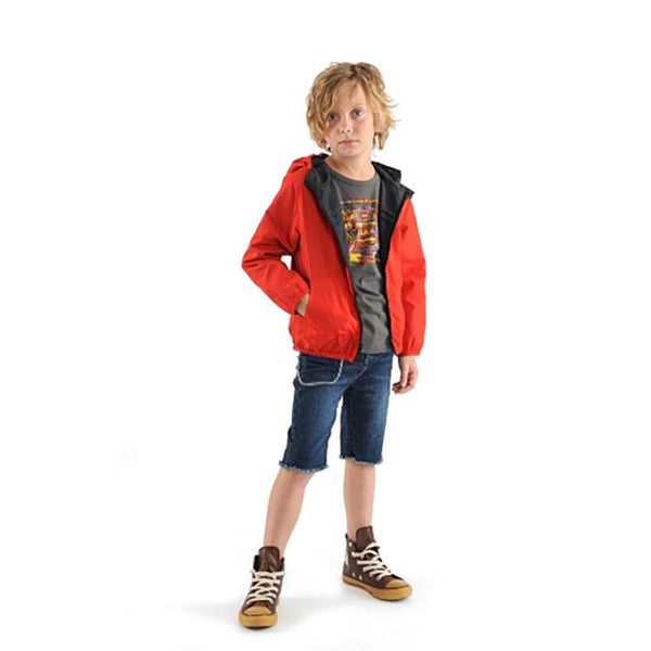 Little Boys Reversible Windbreaker by Appaman - The Boy's Store