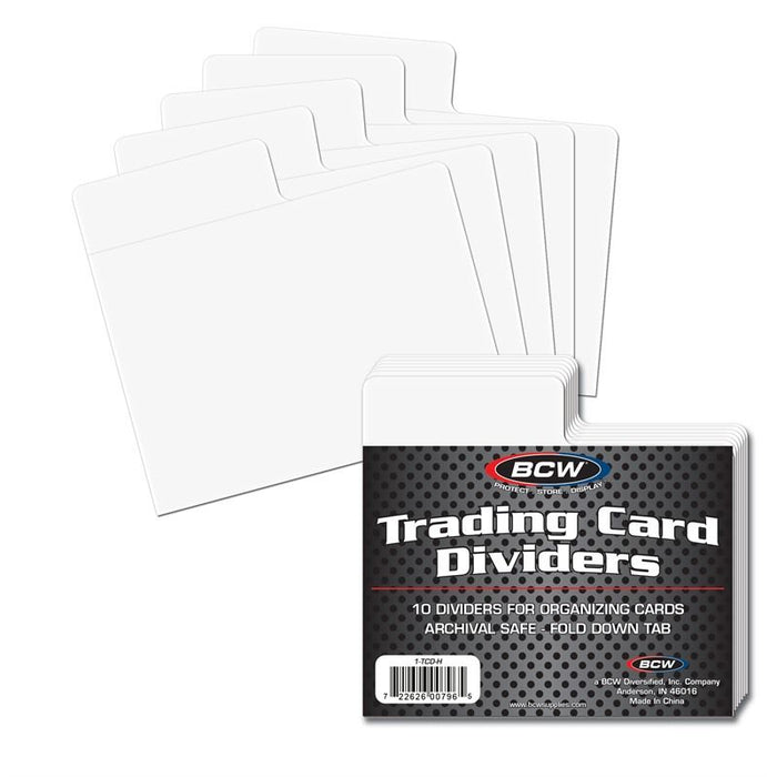 Trading Card Dividers - Horizontal (BCW)