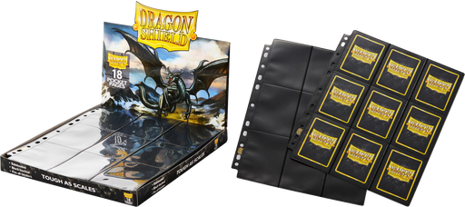 18-Pocket Pages Display (50 Pages) - Dragon Shield