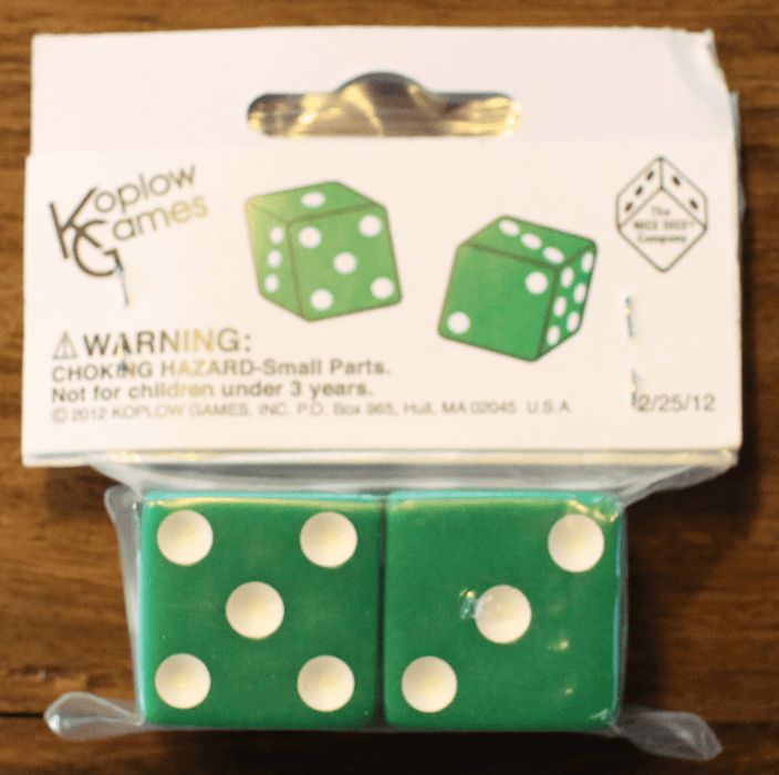 Opaque 25mm D6 Koplow terninger