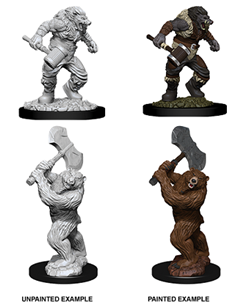 Dungeons & Dragons - Nolzur's Marvelous Miniatures: Wereboar and Werebear