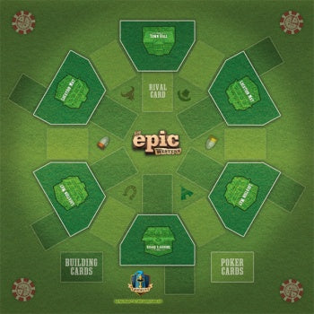 Tiny Epic Western Game Mat