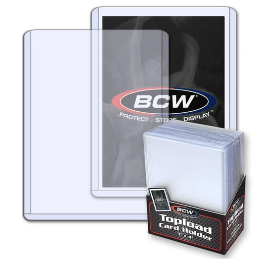 3x4 Topload Card Holder - Standard (BCW)