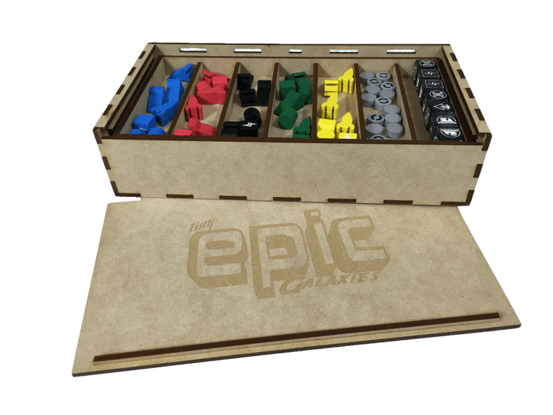 Kiste til Tiny Epic Galaxies (TEG-001 Chest) (Go7 Gaming)
