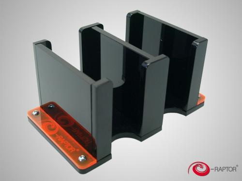 Card Holder - 2S Solid Black (e-Raptor)