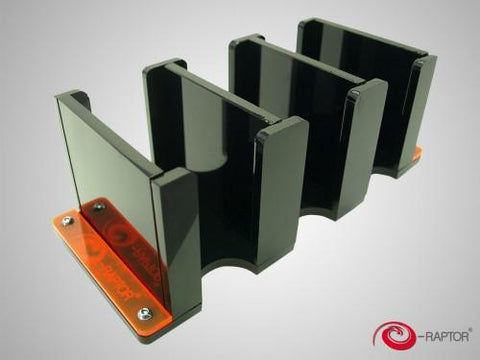 Card Holder - 3S Solid Black (e-Raptor)
